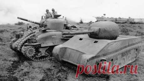 К каким хитростям прибегали советские танкисты в годы Второй мировой / Научный хит