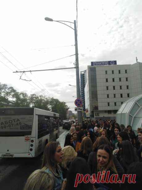 В Самаре эвакуируют торговые центры 7 мая 2019 г | 63.ru Самара