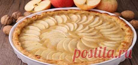 Шарлотка с яблоками – 5 рецептов в духовке