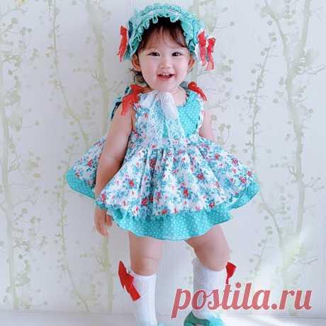 Испанское винтажное платье для девочек; детское платье принцессы в стиле Лолиты; хлопковое праздничное платье с открытой спиной для дня рождения; Modis; vestidos; Y1370-in Платья from Мать и ребенок on AliExpress - 11.11_Double 11_Singles' Day