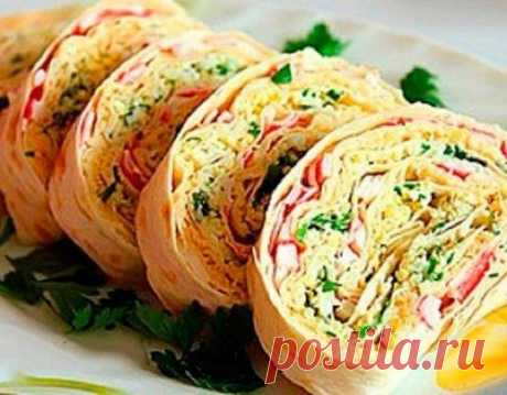 Ten recipes of rolls from an unleavened wheat cake