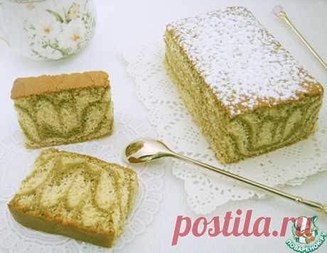 Мраморный бисквит – кулинарный рецепт