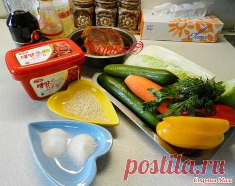 Корейский салат с курицей - Страна Мам