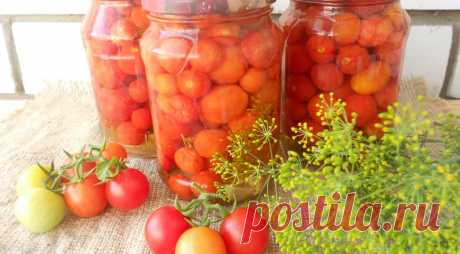 Маринованные помидорчики черри - Образованная Сова