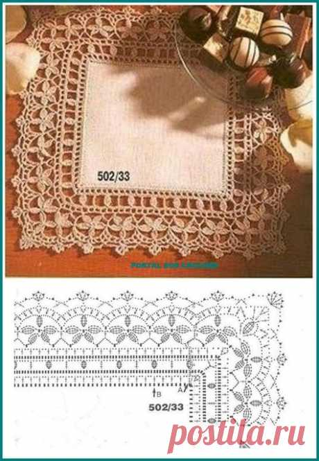 47 Ideas Crochet Edging And Borders Lace Link