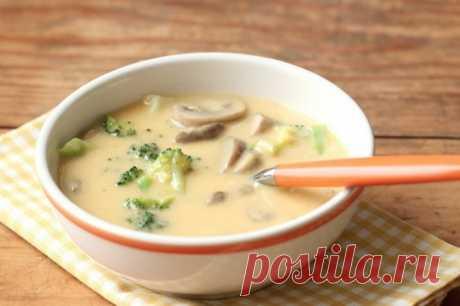 Сырный суп - рецепт приготовления