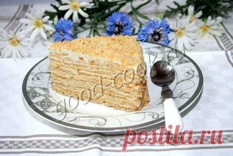 """торт """"Молочная девочка"""" с творожно-сметанным кремом. Рецепт приготовления"""