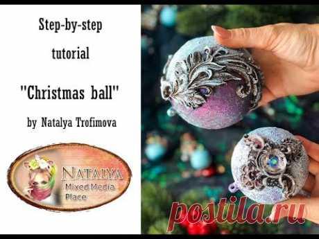 Сhristmas balls tutorial
