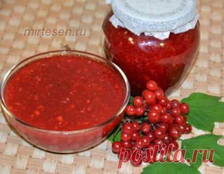 Лучший рецепт из калины, узнав который вы полюбите эту ягоду!   Вы не любите калину? Вы ее просто готовить не умеете! Спешу поделиться с вами лучшим рецептом из ягод калины, который позволит сохранить в ней все природныe витамины. Рецепт очень простой, а получае…