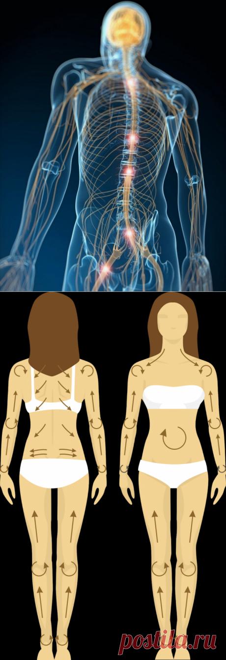 Сухое растирание для красоты и здоровья: Как правильно делать массаж сухой щеткой?