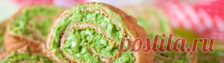 Сырные кето рулетики с цветной капустой