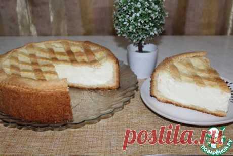 Итальянский пирог с творожно-заварным кремом – кулинарный рецепт