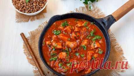Подлива к Гречке с Мясом Очень Вкусный Сытный Рецепт Подлива к гречке с мясом - очень вкусный и простой рецепт. Эта мясная подлива к грече, будет для вас, очень вкусным и сытным обедом.