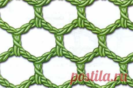 Виды филейной вязки | knittingmania.ru