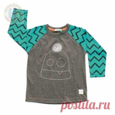 Детская футболка с коротким и длинным рукавом  Размеры 116-158 Источник указан внутри файла