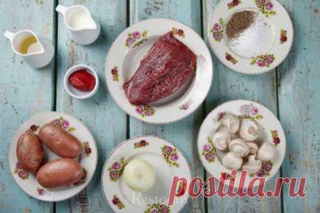 Бефстроганов с картофелем «Пушкин» от шеф-повара ресторана «Катюша». Рецепты от шефа