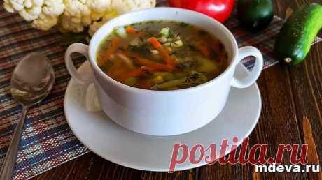Суп из полбы и цветной капусты Суп из полбы: пошаговый рецепт приготовления с фото