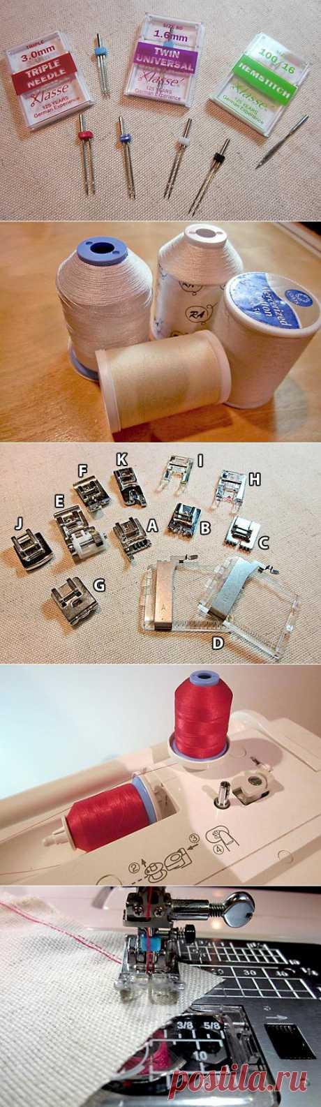 Все старое ново снова с Fabric.com: Basic Мережки на машины | Sew4Home