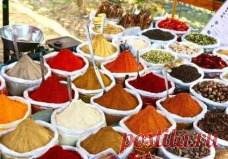 Сочетаемость специй и пряностей с продуктами