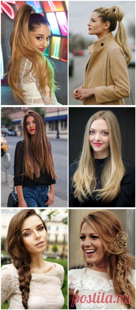 10 женских причесок, от которых мужчины обычно просто без ума - Я узнаю