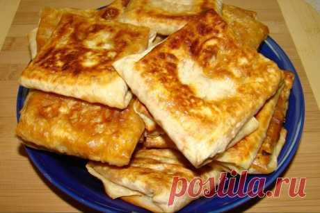 Рецепты горячих закусок из лаваша