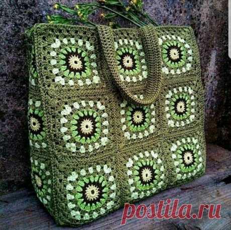 Простые и красивые сумки. Схемы.   Блог о вязании   Яндекс Дзен