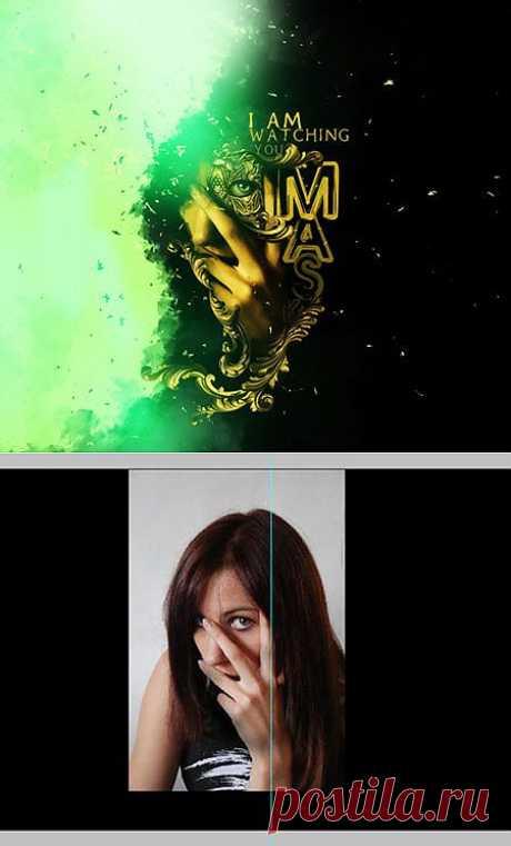 Создай мистический гранж эффект в Фотошоп / Photoshop уроки и всё для фотошоп - новые уроки каждый день!