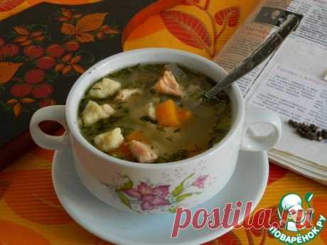 Суп с нежнейшими клецками