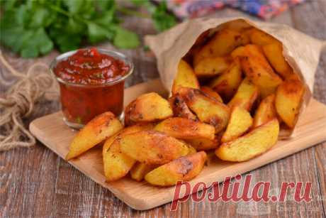 Самый вкусный картофель по-деревенски | Совет да Еда | Яндекс Дзен