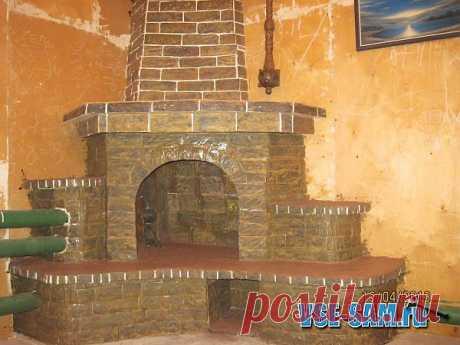 (+1) тема - Камин из обрезков и мешка гипса за 150 рублей | МАСТЕРА