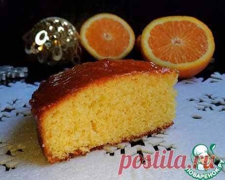 Рождественский апельсиновый пирог.