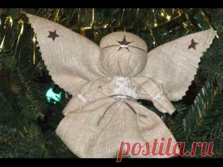 Видео-урок по изготовлению народной куклы «Ангел»