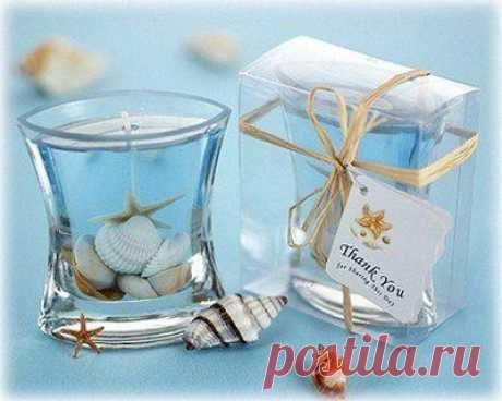 La receta por la fabricación transparente gelevyh de las velas.