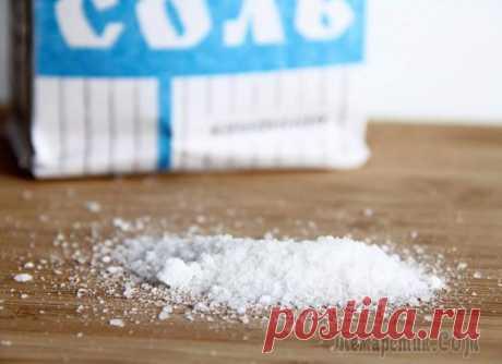 Не только в еду или как использовать соль не по назначению Из всех источников нам твердят, что соль ровно, как и сахар — белая смерть, но мы-то знаем, что во всём просто нужна мера и тогда с этими «друзьями» не возникнет проблем.То, что без соли еда будет пр...