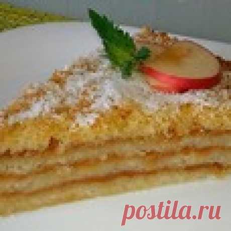 Болгарский насыпной яблочный пирог Кулинарный рецепт
