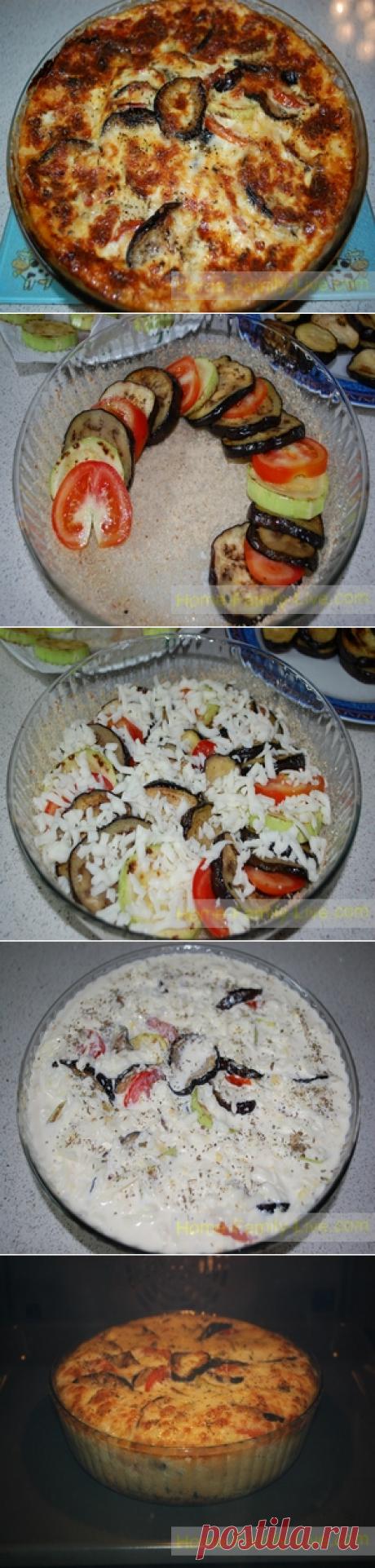 Запеканка из баклажан - пошаговый фото рецептКулинарные рецепты