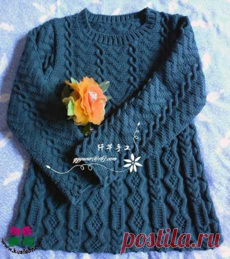 цитата VitushkinaNA : Туника-пуловер рельефными узорами спицами. Описание, схема вязания (19:47 17-10-2017) [4798531/423260384] - popikovamaria@gmail.com - Gmail