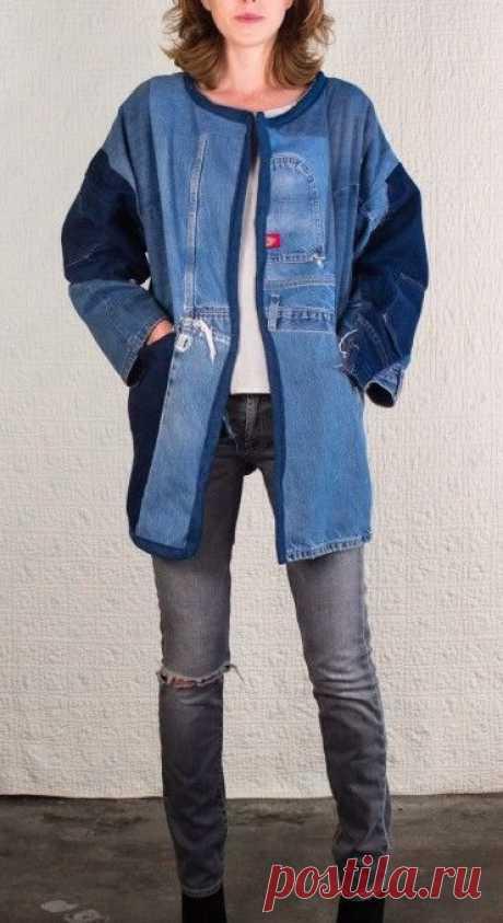 Увидев эти идеи, я перестала выбрасывать старые джинсы! Какие красивые идеи – В Курсе Жизни
