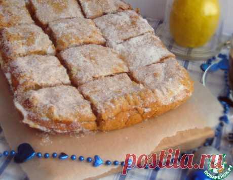 """Пирог """"Лимонник"""" – кулинарный рецепт"""