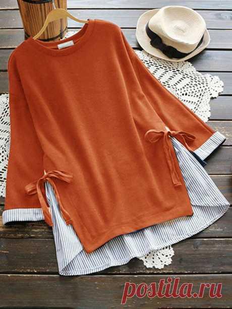 Переделки блузка+кофта Модная одежда и дизайн интерьера своими руками