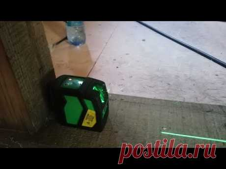 Лазерный уровень Instrumax ELEMENT 2D GREEN   Проверка точности   Евгений Столев