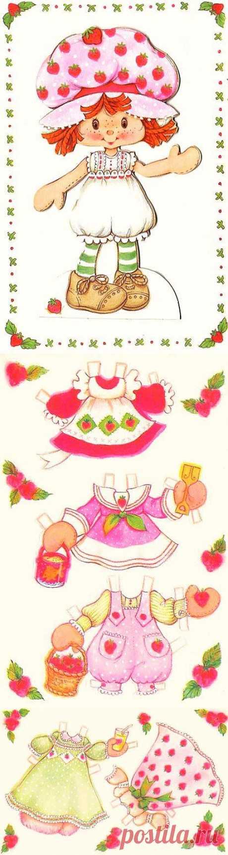 Boneca de papel / Paper doll | Flickr - Photo Sharing!