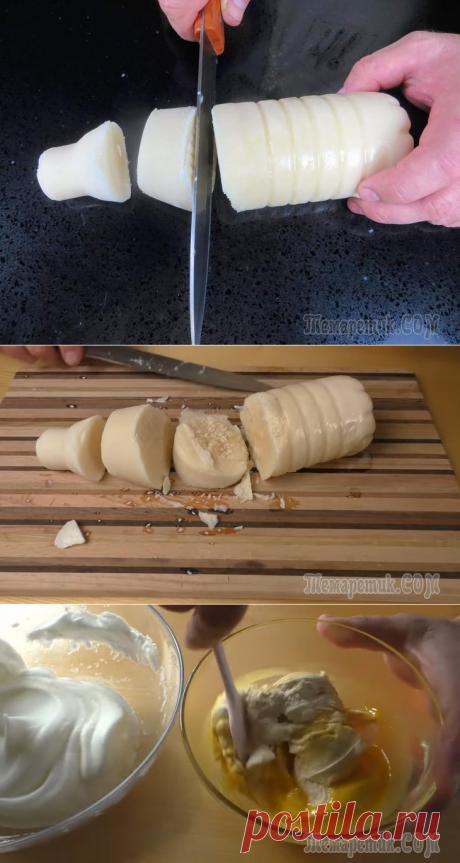 Нарежьте РЯЖЕНКУ и заверните в ткань / Очень вкусный рецепт Другой Кухни