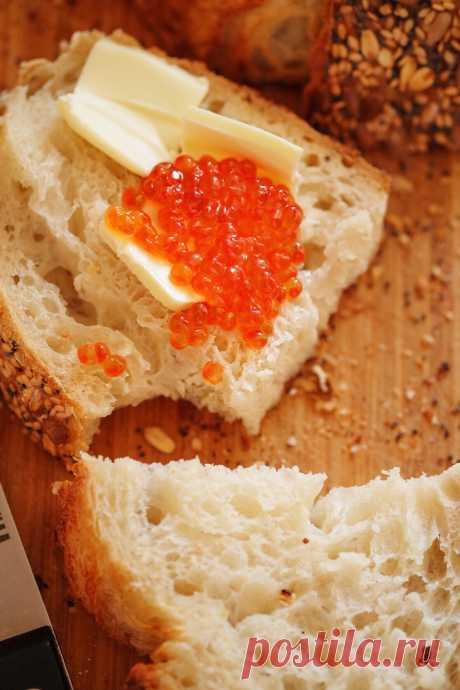 «Ленивый» хлеб (от Ольги Войновой) В Инстаграме я подписана на Ольгу Войнову (@ovoynova) — замечательного человека и прекрасного хлебопека. Именно на ее страничке я увидела рецепт этого чудесного хлеба, который Оля назвала &#1…