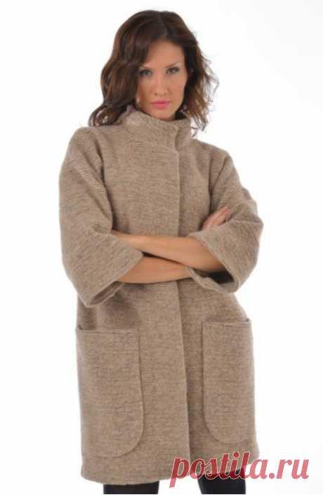 Выкройка пальто силуэта оверсайз на размер ОГ 86 -94 см (Шитье и крой) – Журнал Вдохновение Рукодельницы