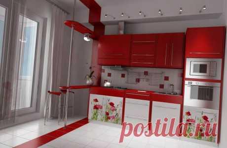дизайн маленькой кухни с газовой колонкой - Поиск в Google
