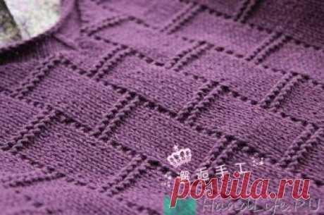 Изящный узор спицами / Вязание