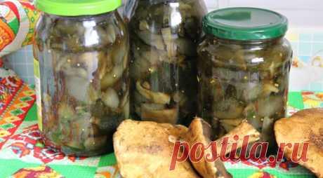 Маринованные моховики , пошаговый рецепт с фото