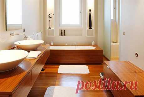 Выбираем пол в ванную комнату - строительство, ремонт, дизайн, интерьер
