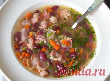 Готовлю этот суп с консервированной фасолью за 25 минут, когда нет времени, а хочется вкусно   Домашняя кухня   Яндекс Дзен